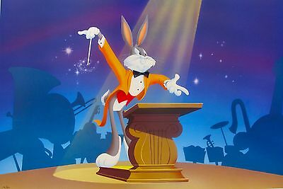 Warner Bros BUGS BUGS BUNNY SYMPHONY ON BROADWAY 1994 Limited Edition Lithograph