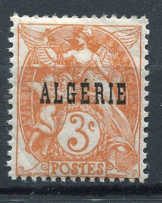 Timbre Algerie Neuf **   N° 4  Type Blanc