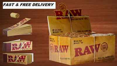 Raw Natural Roach Tips Cheapest On Ebay,Use With King Size Rizla Zig Zag