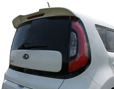 Fits: Kia Soul 2014+ Painted Flush Mount Factory Style Rear Spoiler
