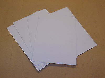 5 Pieces Kydex T Sheet 297 X 210 X 1Mm A4 Size (P-1 Haircell White)