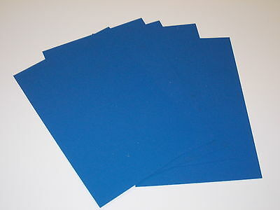 5 Pieces Kydex T Sheet 297 X 210 X 1Mm A4 Size (P-1 Haircell Blue)