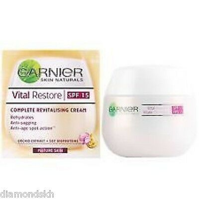GARNIER Vital Restore complete revitalising cream for mature skin - 50ml