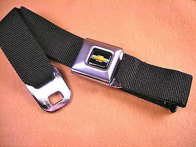 NEW CHEVROLET  SEAT BELT BUCKLE BELT -MADE IN THE U.S.A.