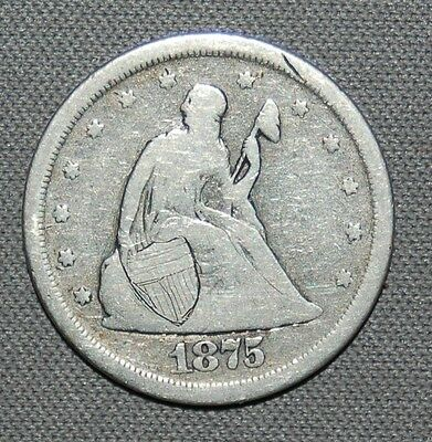1875-S 20C Liberty Seated Twenty Cents