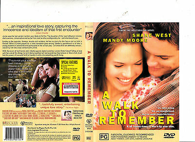 A Walk To Remember-2001-Shane West- Movie-DVD