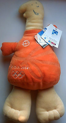 Orig.mascot   Olympic Games ATHEN 2004 - ATHENA / 43 cm  !!  VERY RARE