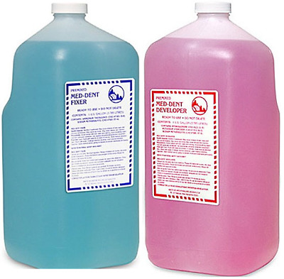 X-ray Developer & Fixer Combo-Pak, 2 Gallons Each