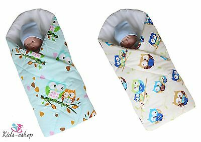 Newborn Swaddle Me Baby Horn Wrap Rozek Baby Blanket Sleeping Bag Duvet Becik