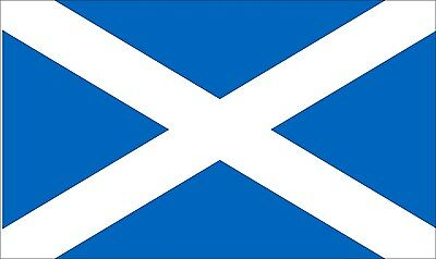 SCOTLAND ST ANDREW LIGHT BLUE LARGE FLAG 8 X 5 FEET flags MASSIVE SCOTTISH