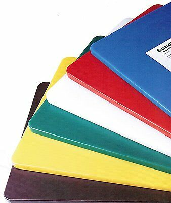 "Colour Coded Chopping Board 18"" x 12"" x 1/2"""