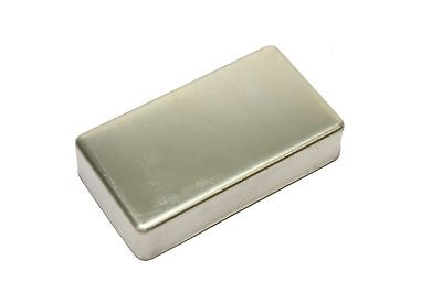 Humbucker Pickup cover NON-plated RAW nickel silver WITH NO HOLES