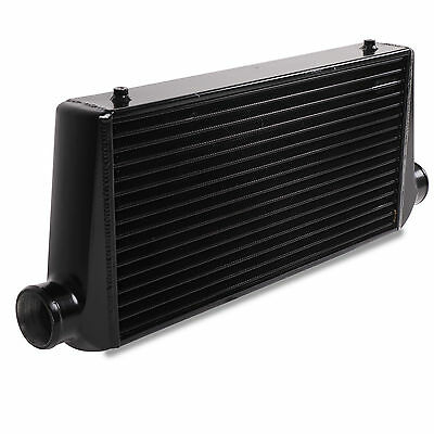 BLACK EDITION FRONT MOUNT 595x300x85mm INTERCOOLER FOR FORD MONDEO FOCUS RS ST