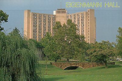 Eigenmann Hall, Indiana University, Bloomington, IN, Residence Center - Postcard