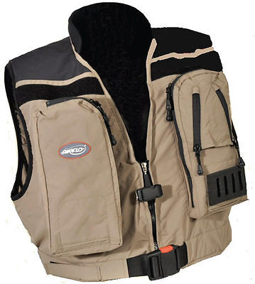 Airflo NEW Wave Hopper Inflatable Lightweight Fly Fishing Wading Vest - Free P+P