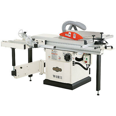 "Shop Fox W1811 - 5 HP 10"" Sliding Table Saw"