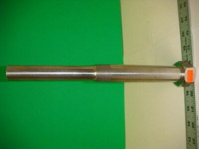 "Stainless Steel Straight Shank Lagging Extension Thermowell, 4 5/8"" Insertion"