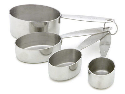 Cuisipro 4-pc. Measuring Cups, Stainless Steel