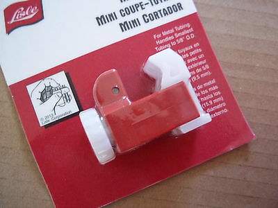 Lisle Mini Tube Cutter Smooth nylon action cuts tubing quickly For tight places