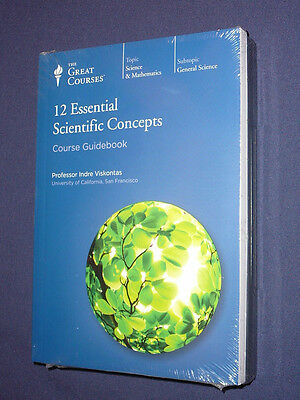 Teaching Co Great Courses CDs    12 ESSENTIAL SCIENTIFIC CONCEPTS    new sealed