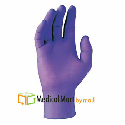 500 Blue Nitrile Large Powder Free Disposable Gloves 3.5 Mil, Non-Latex