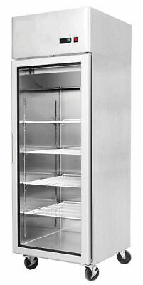 Showcase Chiller *NEW* Heavy Duty Commercial Single Door Upright Gastronome