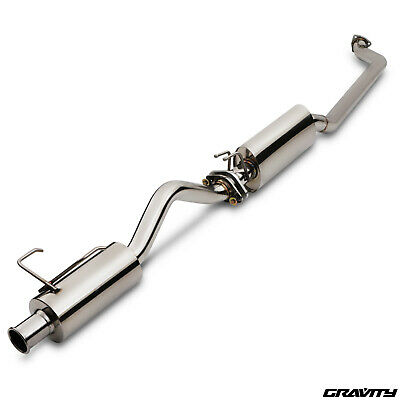 Stainless Steel Cat Back Race Exhaust System For Honda Civic Ep3 Type R 00-07