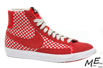 sports shoes d1cb2 218a5 New NIKE Blazer Mid Woven Suede Limited Edition Men Boots Size 8.5 - 555093