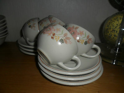 Boots Hedge Rose Set Of Cups And Saucers