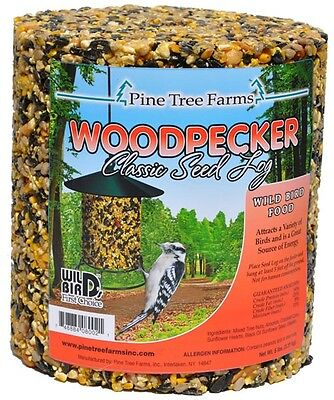 Pine Tree Farms Woodpecker Seed Log 5 LB 8004 Made in USA