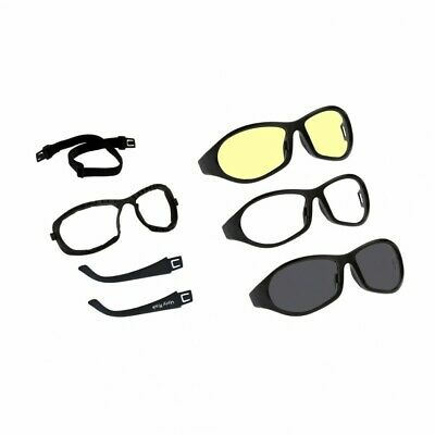 "Ugly Fish Goggles Glasses ""cruize""changeable Lenses Suit Open Face Helmets"