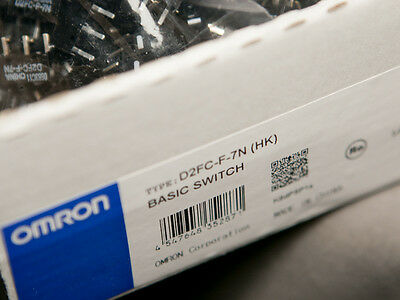 500 Pc. OMRON D2FC-F-7N Micro Switches Microswitch RAZER Logitech APPLE MS Mouse