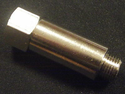 """BSP Extension Adapters,Nickel Plated Bsp male to Female Extended Adapters 1/8-1"""""""