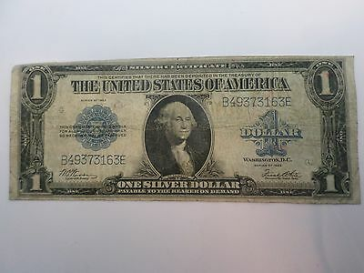 1923 SERIES ONE DOLLAR SILVER CERTIFICATE LARGE BILL