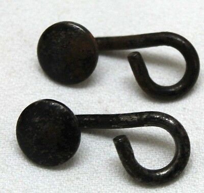 USED French Foreign Legion Suspender Hooks LOT of  TWO  E386