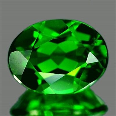 1.45 CT~ Green Chrome Diopside Oval Natural Gemstone