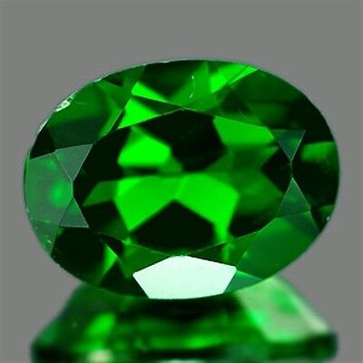 1.25 CT~ Green Chrome Diopside Oval Natural Gemstone