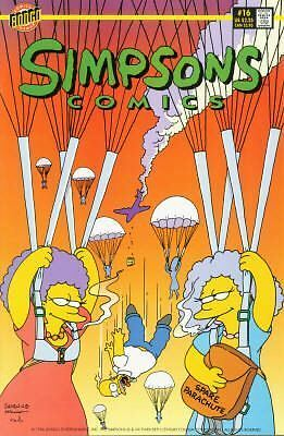 Bongo comics Simpsons #16 NM FREE UK POST