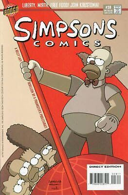 Bongo comics Simpsons #28 NM FREE UK POST