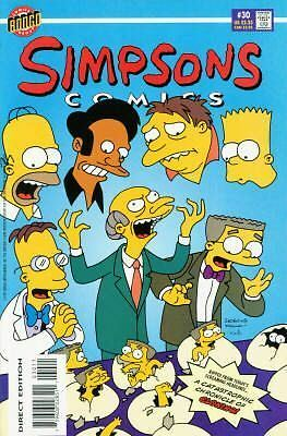 Bongo comics Simpsons 30 NM FREE UK POST