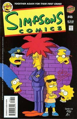 Bongo comics Simpsons 46 VFN+/NM- FREE UK POST