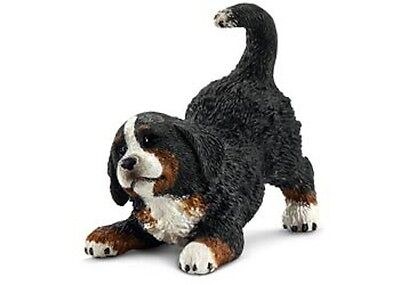 Schleich - Bernese Mountain Dog Puppy small toy figure NEW * Farm Life #16398