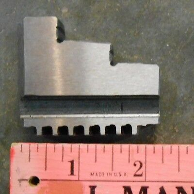 2091 Lathe Power Chuck Replacement Step Jaw, Hard (1 jaw) (Gar5-3)