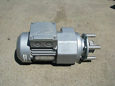 SEW Eurodrive 3 Phase Electric Gear Motor 0.12kw 50RPM 17.73 Ratio RF32D163N6