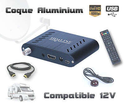Mini Decodeur Satellite Hd - Demodulateur Recepteur Fta Hdmi Usb Hotbird