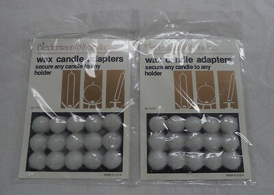 Biedermann and Sons Wax Dot Candle Adapter (2 x 15 Set Cards = 30 Dots Total)
