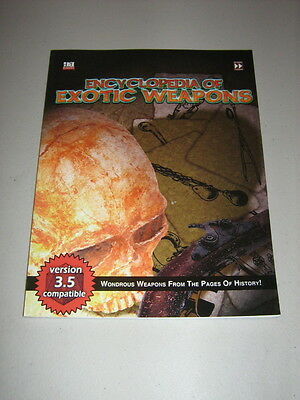 d20: The Encyclopedia of Exotic Weapons (New)