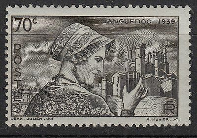 France Timbre Neuf  N° 448 **  Languedocienne Et Cathedrale De Beziers