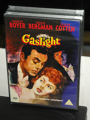 Gaslight (DVD) Charles Boyer, Ingrid Bergman, PAL FORMAT! REGION TWO! NEW!
