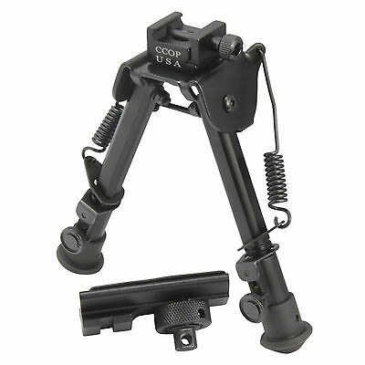 New CCOP Universal Picatinny Rail Mount Adjustable Tactical Rifle Bipod BP-79S